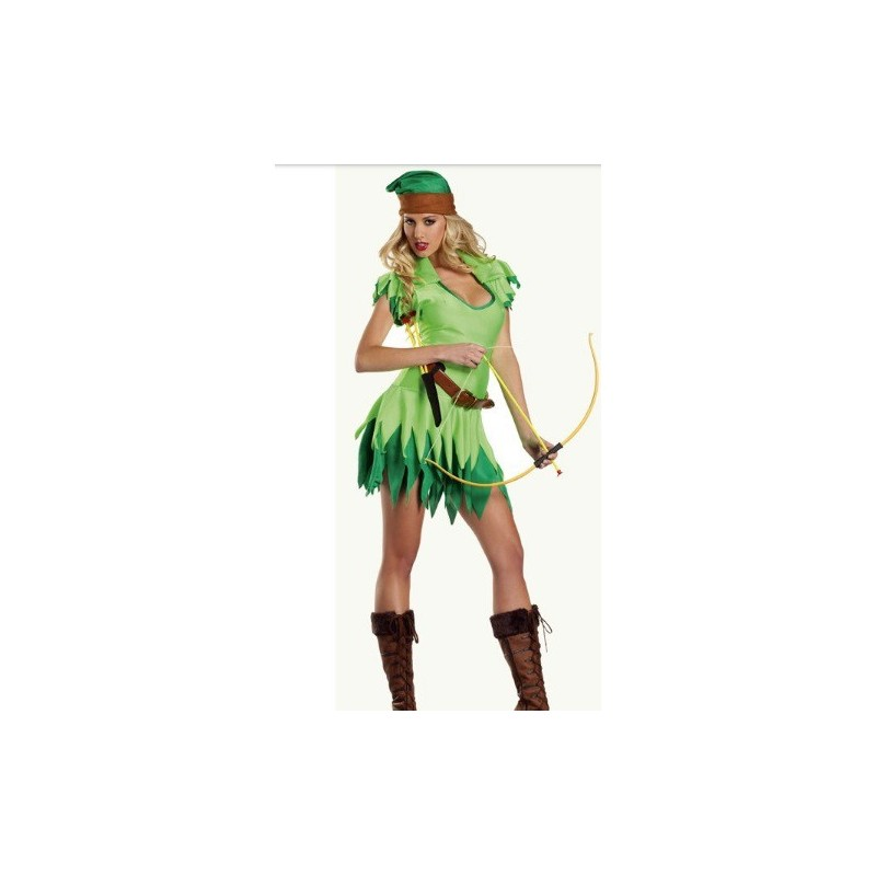 Fantasia Feminina para Festa Peter Pan Sexy Cosplay