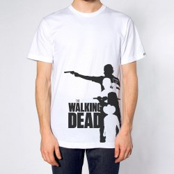 Camiseta Masculina The Walking Dead Branca