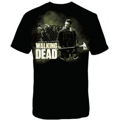 Camiseta Masculina Série The Walking Dead Rick Grimes
