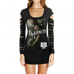 Vestido Preto Série The Walking Dead Daryl Dixon