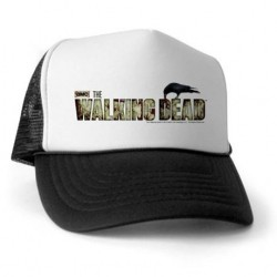 Boné Série The Walking Dead Branco e Preto