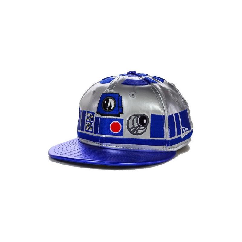372dbff4ceff9 Boné Saga Star Wars R2D2 Aba Reta