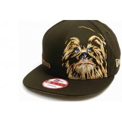Boné Saga Star Wars Chewbacca Aba Reta Preto