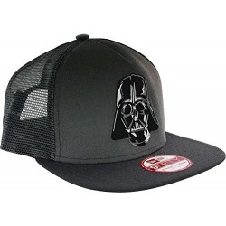 Boné Trucker Saga Star Wars Darth Vader Aba Reta Preto