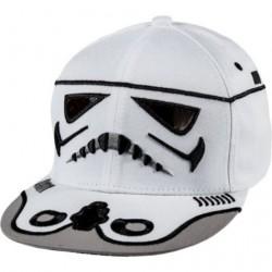 Boné Saga Star Wars Aba Reta Exército dos Clones Branco