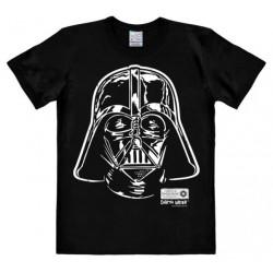 Camiseta Masculina Star Wars Vader Preta