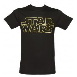 Camiseta Masculina Star Wars Preta