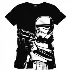 Camiseta Masculina Star Wars Clone Preta