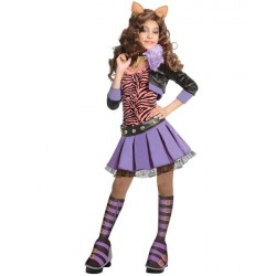 Fantasia Infantil Meninas Monster High Clawdeen
