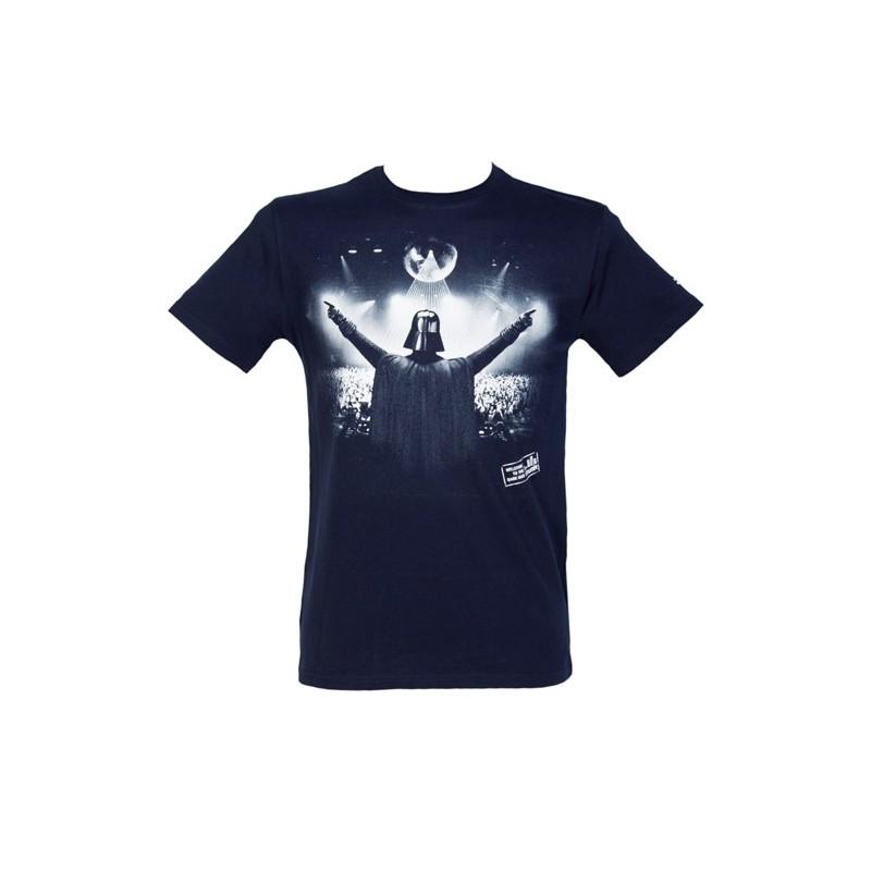 Camiseta Masculina Star Wars Personagens Vader Show Preta