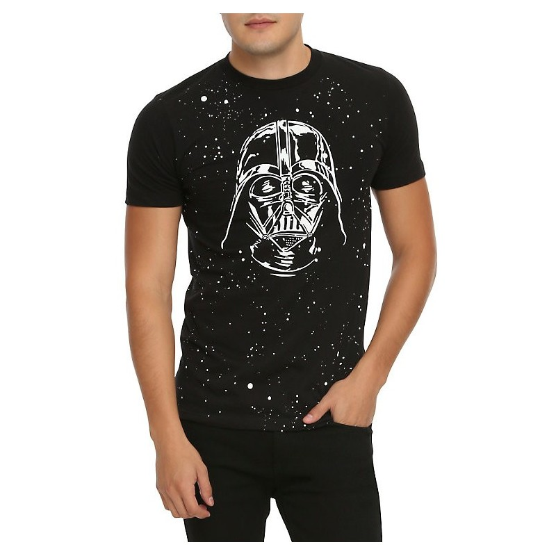 Camiseta Masculina Star Wars Personagens Vader Preta