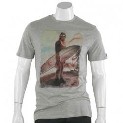 Camiseta Masculina Star Wars Chewbacca Chewie Surf Cinza