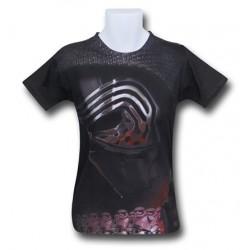 Camiseta Masculina Star Wars O Despertar da Força Kylo Ren