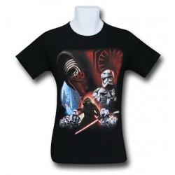 Camiseta Masculina Star Wars O Despertar da Força Preta