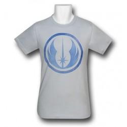 Camiseta Masculina Star Wars Símbolo Jedi Azul