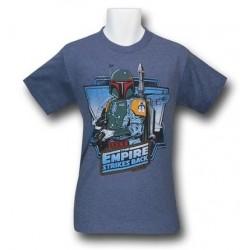 Camiseta Masculina Star Wars O Império Contra Ataca Azul