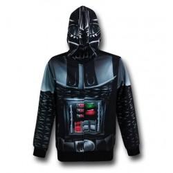 Blusa Jaqueta Masculina Traje Darth Vader Wars Geek Preta