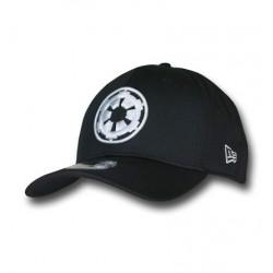 Boné Star Wars Símbolo Império Branco e Preto