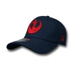 Boné Star Wars Símbolo Aliança Rebelde Vermelho e Preto