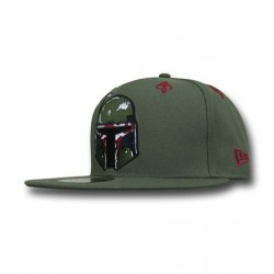 Boné Star Wars Boba Fett Verde Aba Reta
