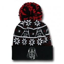 Gorro Touca Masculina Star Wars Preta Darth Vader