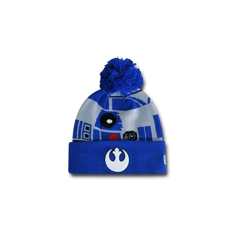 Gorro Touca Masculina Star Wars Azul R2D2 Aliança Rebelde