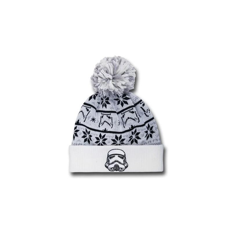 457b96691b4ba Gorro Touca Masculina Star Wars Exército dos Clones Branca