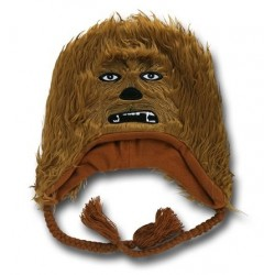 Gorro Touca Star Wars Chewbacca Marrom