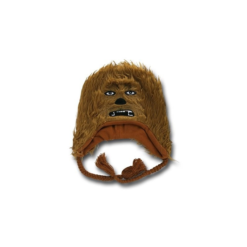 Gorro Touca Star Wars Chewbacca Marrom