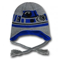Gorro Touca Star Wars R2D2 Azul