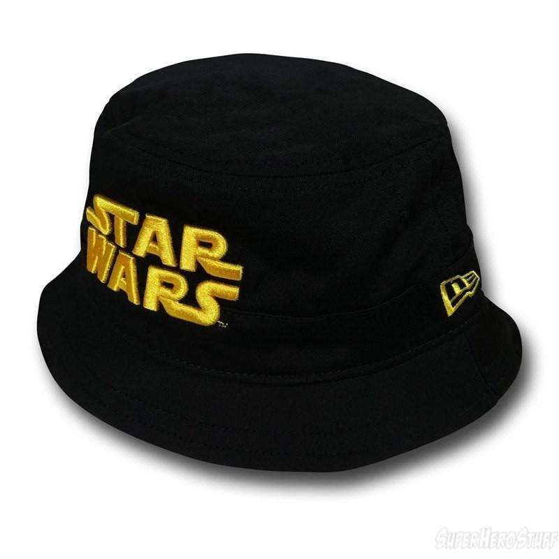Chapéu Masculino de Pano Saga Star Wars  Preto