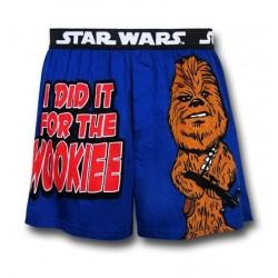 Cueca Box Adulto Star Wars Chewbacca