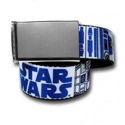Cinto Masculino Star Wars R2D2 Geek