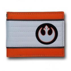 Carteira Star Wars Símbolo Aliança Rebelde