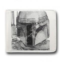Carteira Star Wars Boba Fett Branca