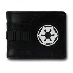 Carteira Star Wars Símbolo Império Galático Preta