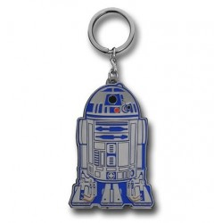 Chaveiro Geek Star Wars R2D2 Aço Inoxidável