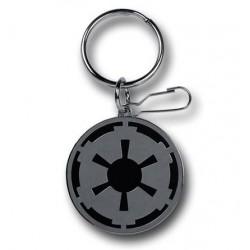 Chaveiro Geek Star Wars Símbolo Império Aço Inoxidável