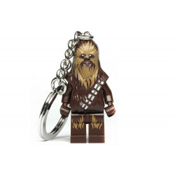 Chaveiro Logo Star Wars Mini Chewbacca com LED