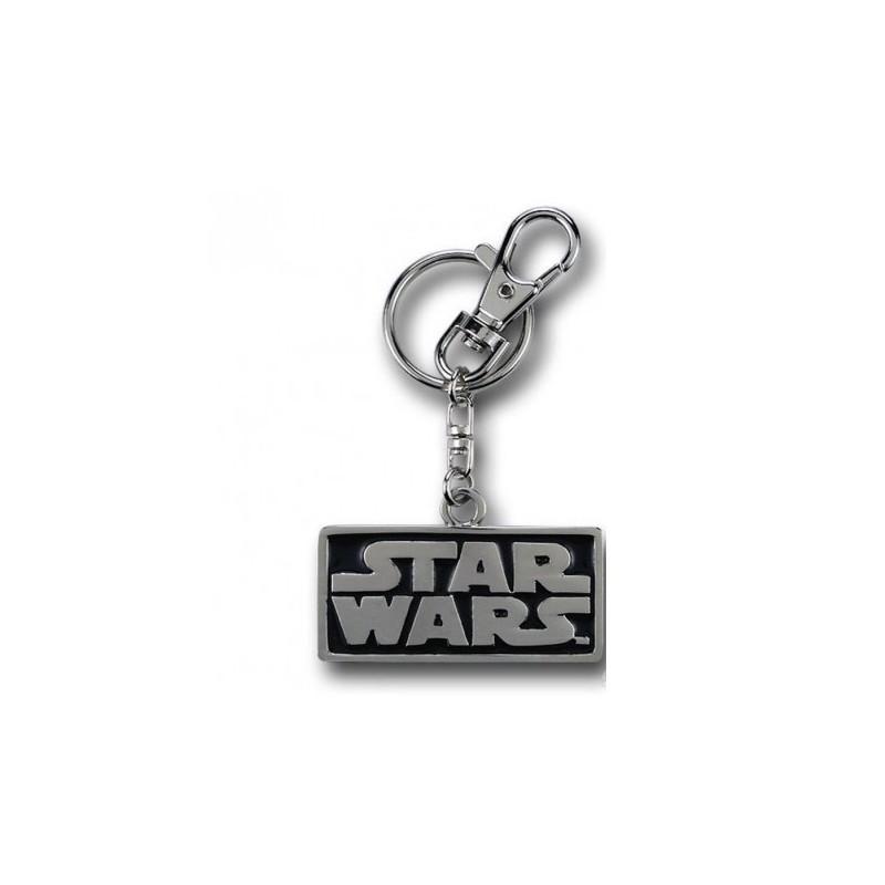 Chaveiro Logo Star Wars Aço Inoxidável