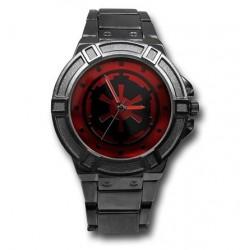 Relógio Masculino Analógico Império Star Wars Pulseira Metálica