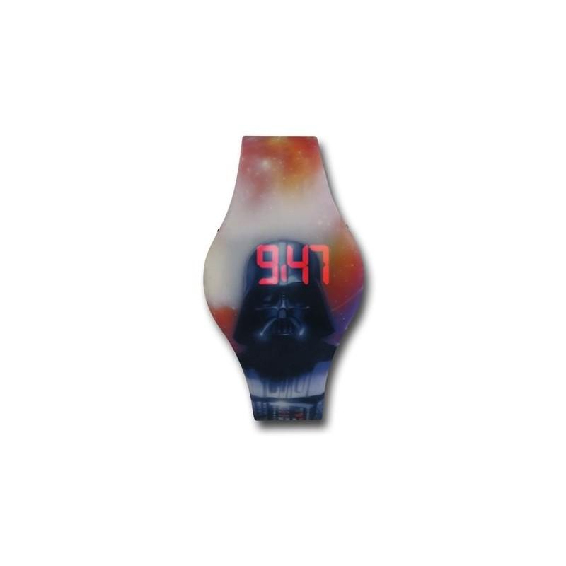 Relógio Star Wars Digital LED Darth Vader