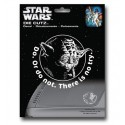 Adesivo Decal Automotivo Mestre Yoda Star Wars