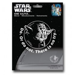Adesivo Decal Automotivo Mestre Yoda Star Wars