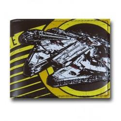Carteira Star Wars Símbolo Nave Aliança Rebelde