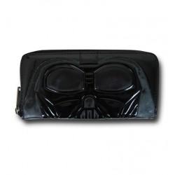 Carteira Feminina Star Wars Darth Vader Preta