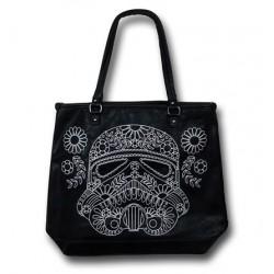 Bolsa Feminina Star Wars Clone Stormtrooper Preta