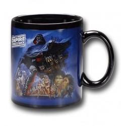 Caneca de Café Personagens Star Wars Azul