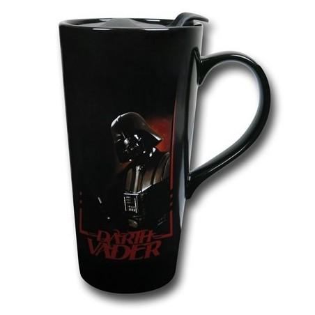 Caneca de Café com Tampa Star Wars Darth Vader