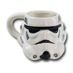 Caneca de Café Star Wars Stormtrooper em Relevo